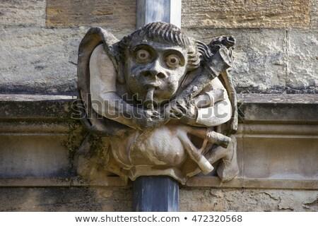 Universidad · iglesia · virgen · oxford · fachada · Inglaterra - foto stock © chrisdorney
