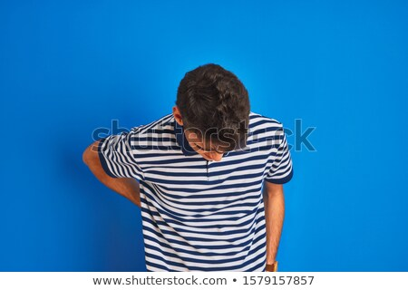 Studio Portrait Of Muscular Teenage Boy Stock photo © monkey_business