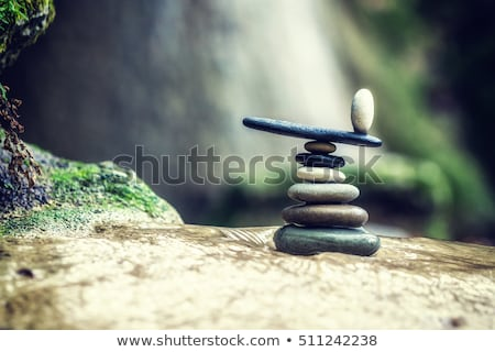 Stack of balanced rocks Stock photo © williv