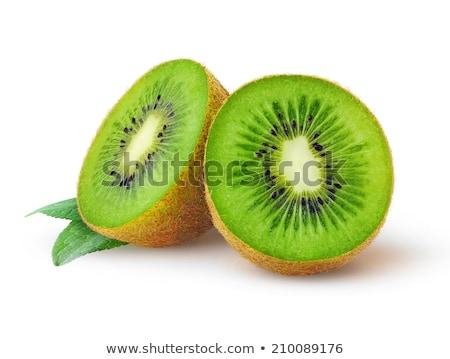 Kiwi fruto isolado branco textura natureza Foto stock © deandrobot