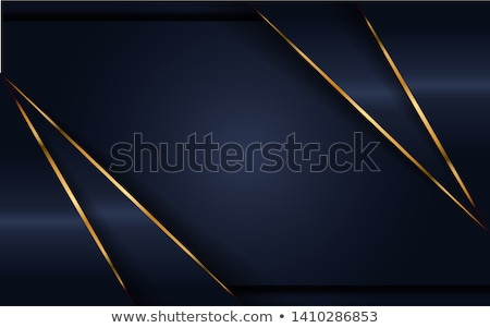 Goud abstract golven strips Stockfoto © x7vector
