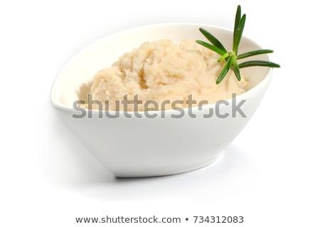 rabanete · salada · comida · folha · restaurante · Óleo - foto stock © m-studio