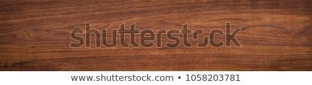 walnut on wood background stock photo © m-studio