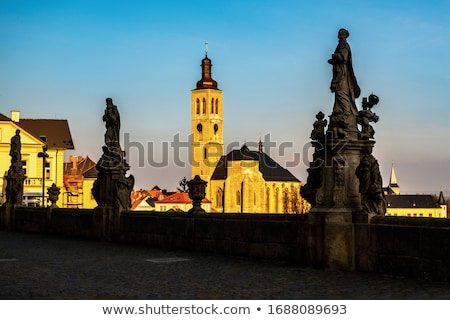 St. Jacob Church in Kutna Hora Stock photo © benkrut