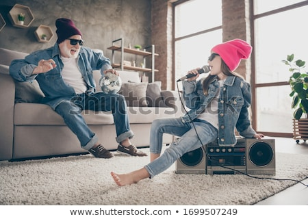 Lovely party outfit. Stock photo © lithian