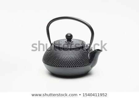 Ferro vintage bule secas Foto stock © dash
