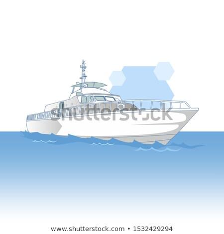 Motor морской лодка серый прозрачный Сток-фото © robuart