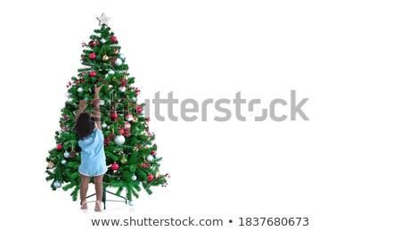 Number 1. Christmas tree decoration  Stock photo © grafvision