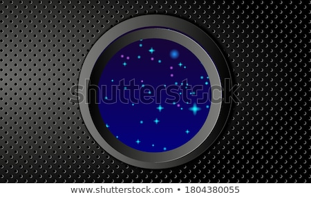 black circle ring abstract vector background Stock photo © blaskorizov