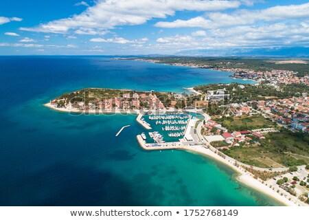ストックフォト: 半島 · パノラマ · 表示 · 地域 · クロアチア
