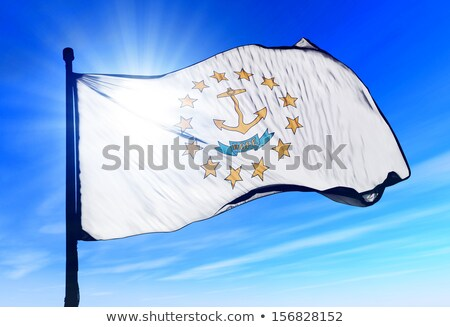 Flag of the state of Rhode Island and Providence Plantations  Stock photo © grafvision