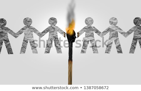 Divisive Politics Stock photo © Lightsource
