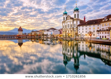 Jesuit Church, Lucerne Stock photo © borisb17