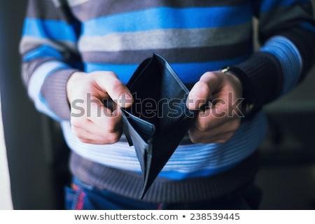 Business Economic crisis concept, Businessman holding showing bi Stock photo © Freedomz