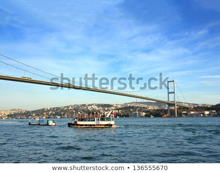 Turquoise water of the Bosphorus Strait in Istanbul, Turkey Stock photo © boggy