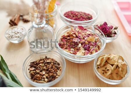 mesa · de · madera · foto · tiro · alimentos · salud - foto stock © pressmaster