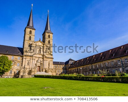 Michaelsberg Abbey, Bamberg, Germany Stock photo © borisb17