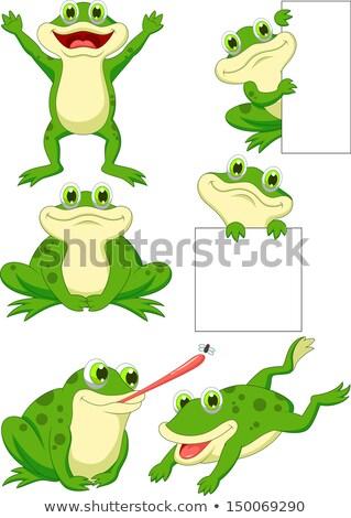 смешные насекомые набор Cartoon иллюстрация Сток-фото © izakowski