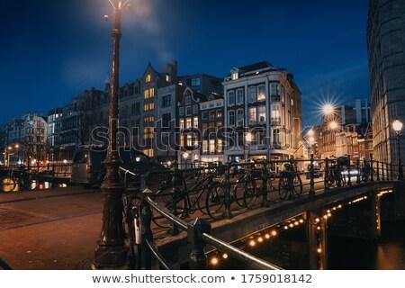 Calle Países Bajos vacío permanecer casa familia Foto stock © Melnyk