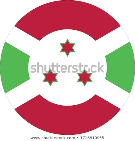 Burundi flag, vector illustration on a white background Stock photo © butenkow