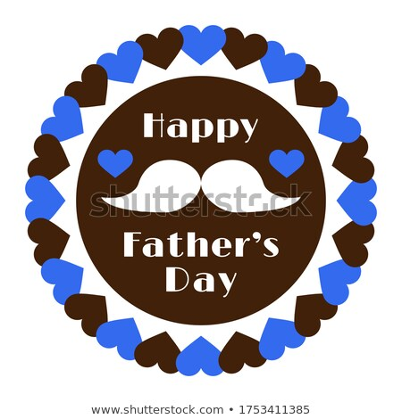 happy fathers day classic style banner design Stock photo © SArts