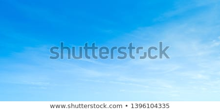 blau · Tageslicht · Sommer · Himmel · weiß · Wolken - stock foto © pterwort