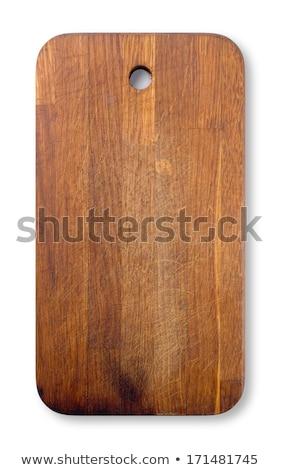 古い まな板 パーフェクト テクスチャ 木材 ストックフォト © jaykayl