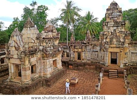 old khmer temple Stock photo © smithore