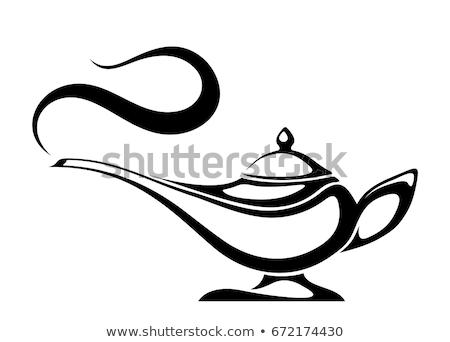 Arabic Oil Lamp Stock photo © Alvinge