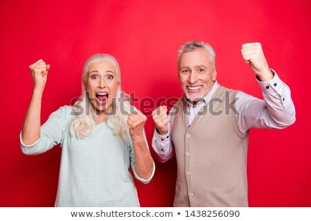 happy beautiful woman wearing football shirt with hand in her back pocket stock photo © rob_stark