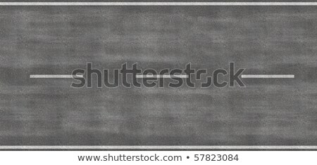 Tileable image of strip of road Stock photo © iodrakon