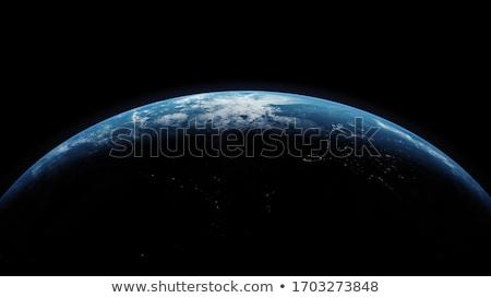 Planety streszczenie Świt niebo słońce wygaśnięcia Zdjęcia stock © nicemonkey