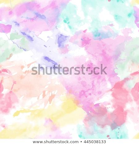 Blue and white splashes seamless pattern Stock photo © lkeskinen