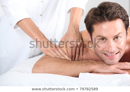 Man being given a massage. Stock photo © photography33