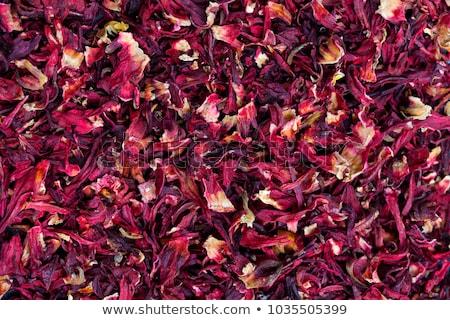dry hibiscus tea stock photo © simply