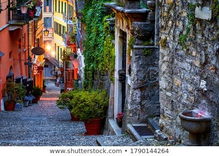 Ristorante italiano strade Italia stretta vicolo città Foto d'archivio © haraldmuc