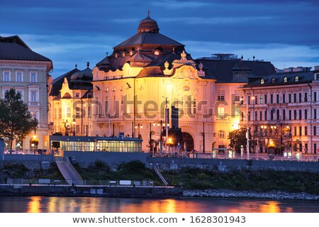 slovak philharmony reduta building bratislava slovakia stock photo © phbcz