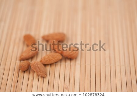 ナッツ 外に 一緒に 木製 ストックフォト © wavebreak_media