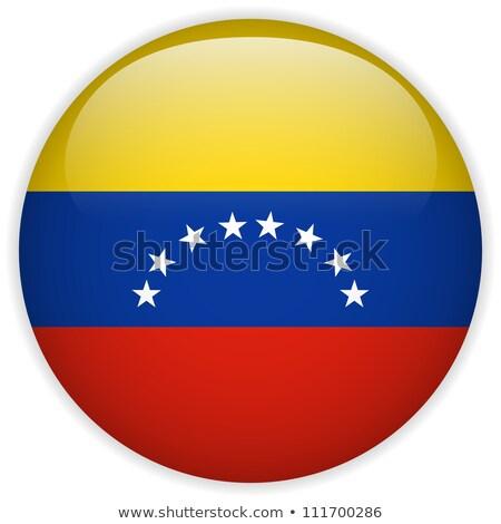 Botão Venezuela mapa paisagem estrela silhueta Foto stock © Ustofre9