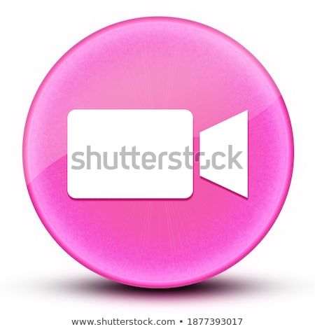 abstract glossy camcorder icon Stock photo © rioillustrator