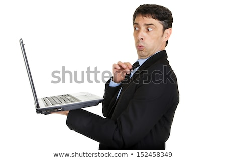 Man looking taken aback and affronted Stock photo © smithore
