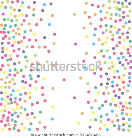 Belo abstrato círculo colorido pontilhado padrão Foto stock © bharat