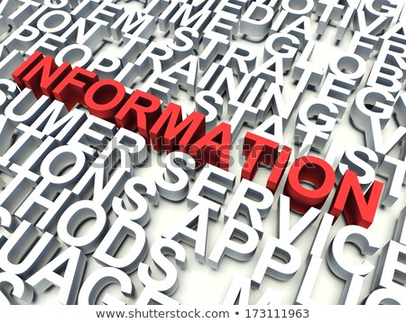 3d background concept wordcloud illustration of motivation stock photo © dacasdo