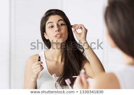 çekici kız portre kadın yüz Stok fotoğraf © dukibu