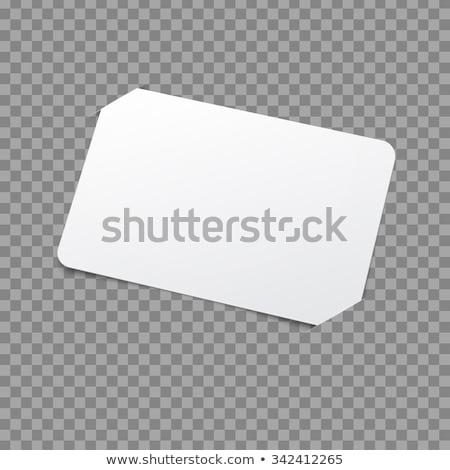 Placeholder White Label Stock photo © make