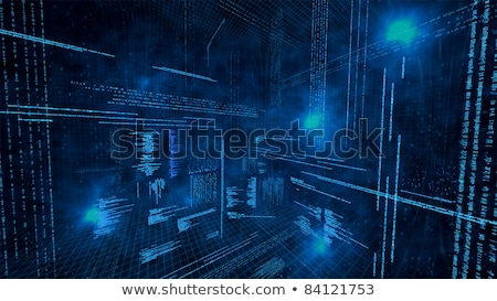 security on dark digital background stock photo © tashatuvango