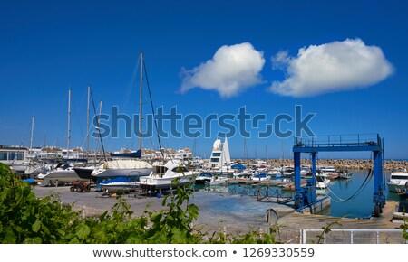 puerto · edificio · viaje · barco · éxito - foto stock © lunamarina