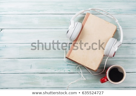 Musical boek papier textuur achtergrond Stockfoto © janaka