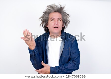 shocked old business man gesturing in confusion Stock photo © feedough