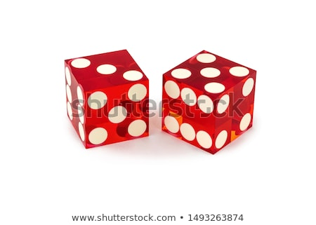 the red casino dice Stock photo © jirkaejc